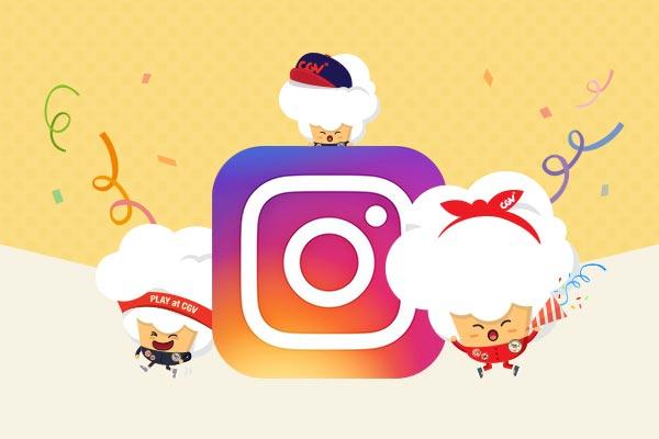 CGV Instagram 팔로우하고 무비패스카드 득템하세요!